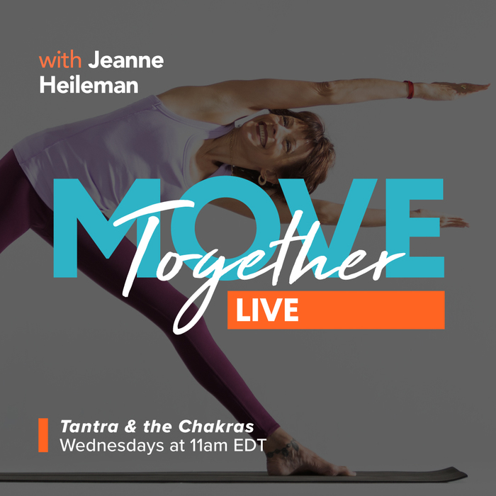 MOVE Together LIVE • Tantra & the Chakras • August 2020