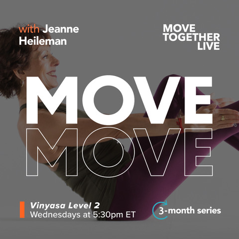3 month series Move Together Live Class with Jeanne Heilmen