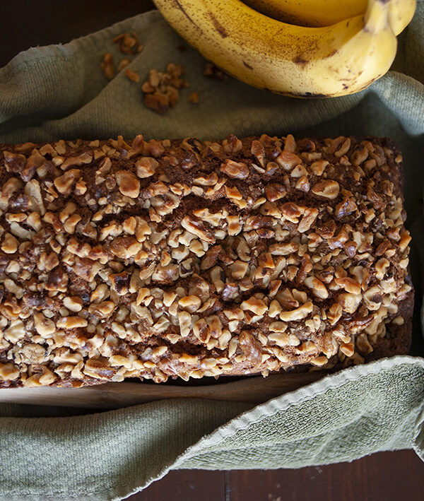 In the Kitchen: Banana Nut Bread