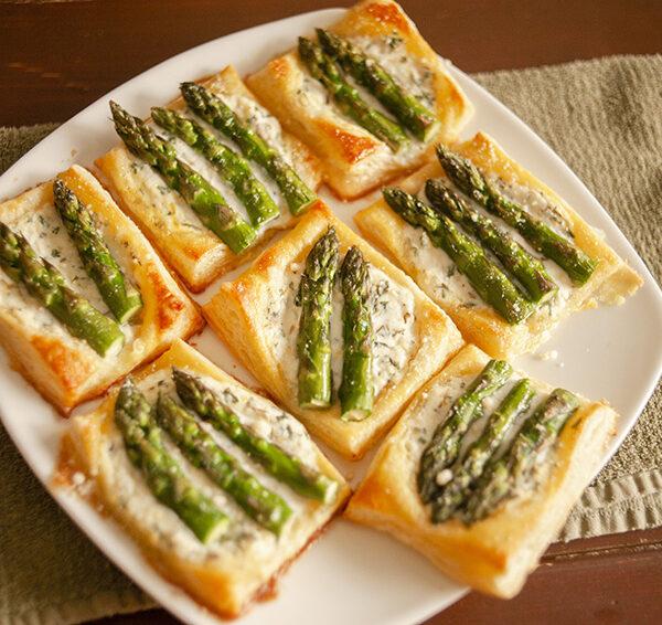 In the Kitchen: Asparagus Tarts