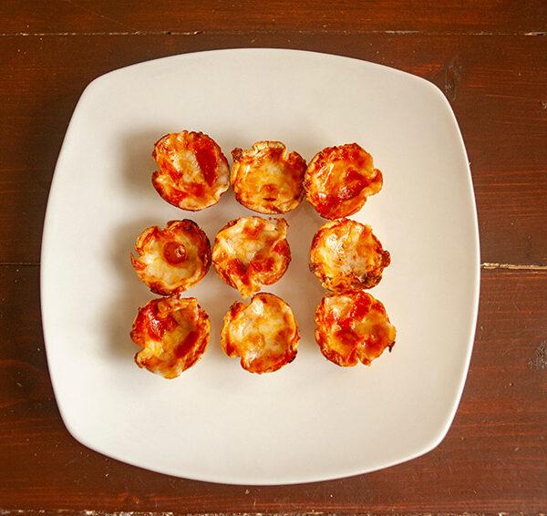 In the Kitchen: Mini Tortilla Crust Pizzas