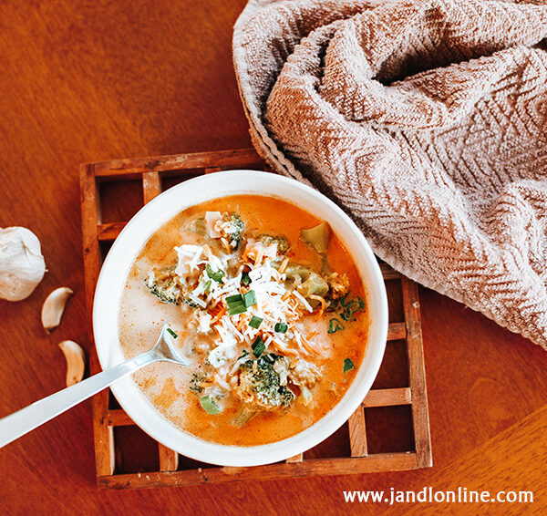 In the Kitchen: Potato and Broccoli Soup