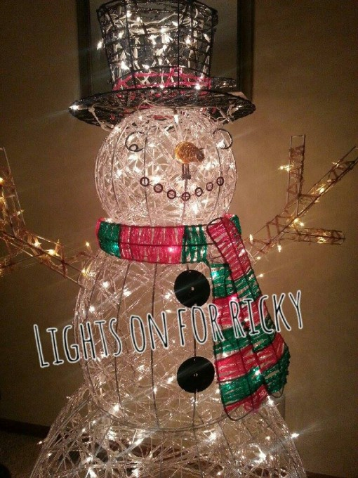 lights on for ricky