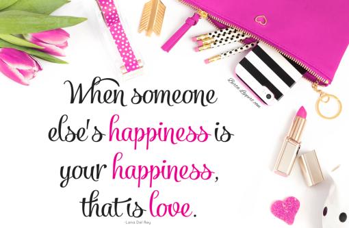 happiness love