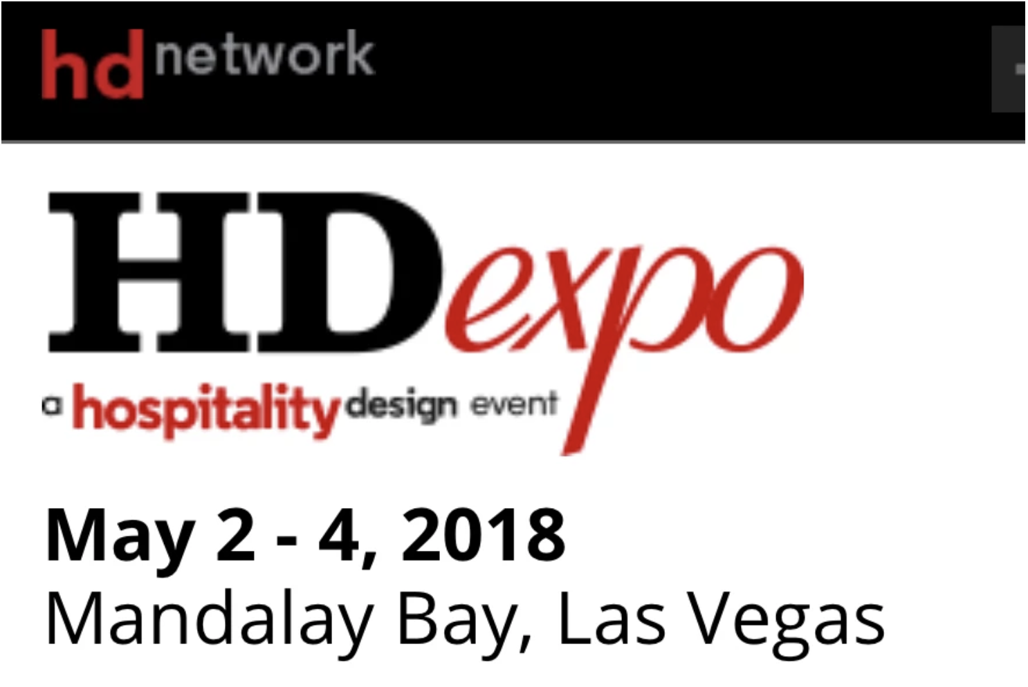 MG Shlachter at the HD Expo 2018 in Las Vegas