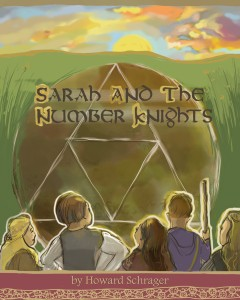 a photo of the book entitled Sarah and the number knights