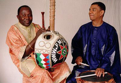 Foday Musa Suso and Jack DeJohnette