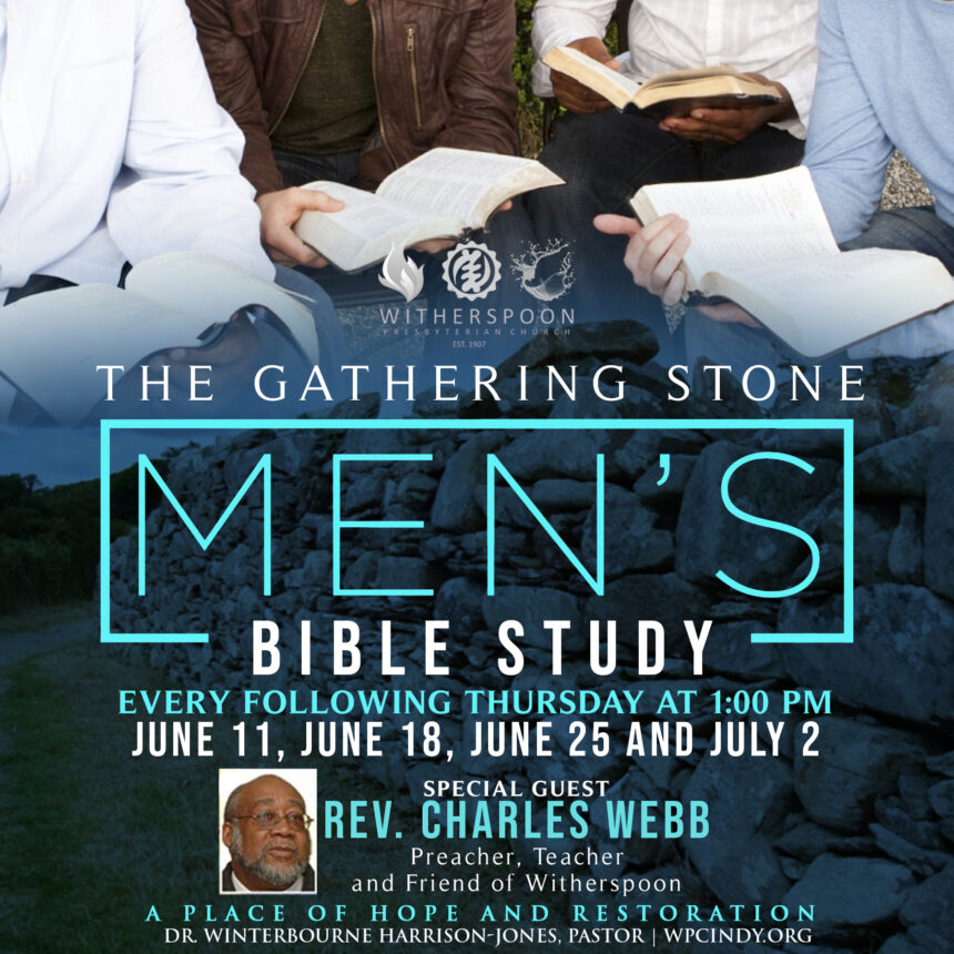 The Gathering Stone: Special Men's Bible Study