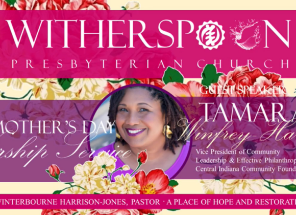 Worship at Witherspoon: Sunday, May 9, 2021