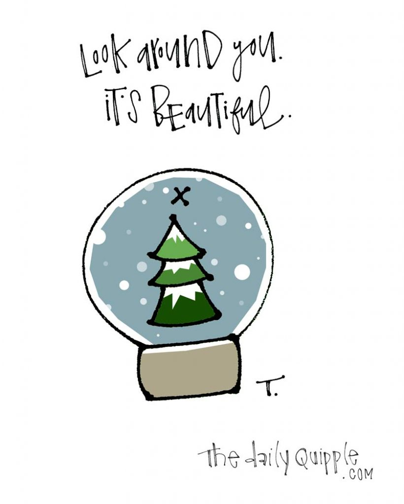 It's Beautiful | The Daily Quipple