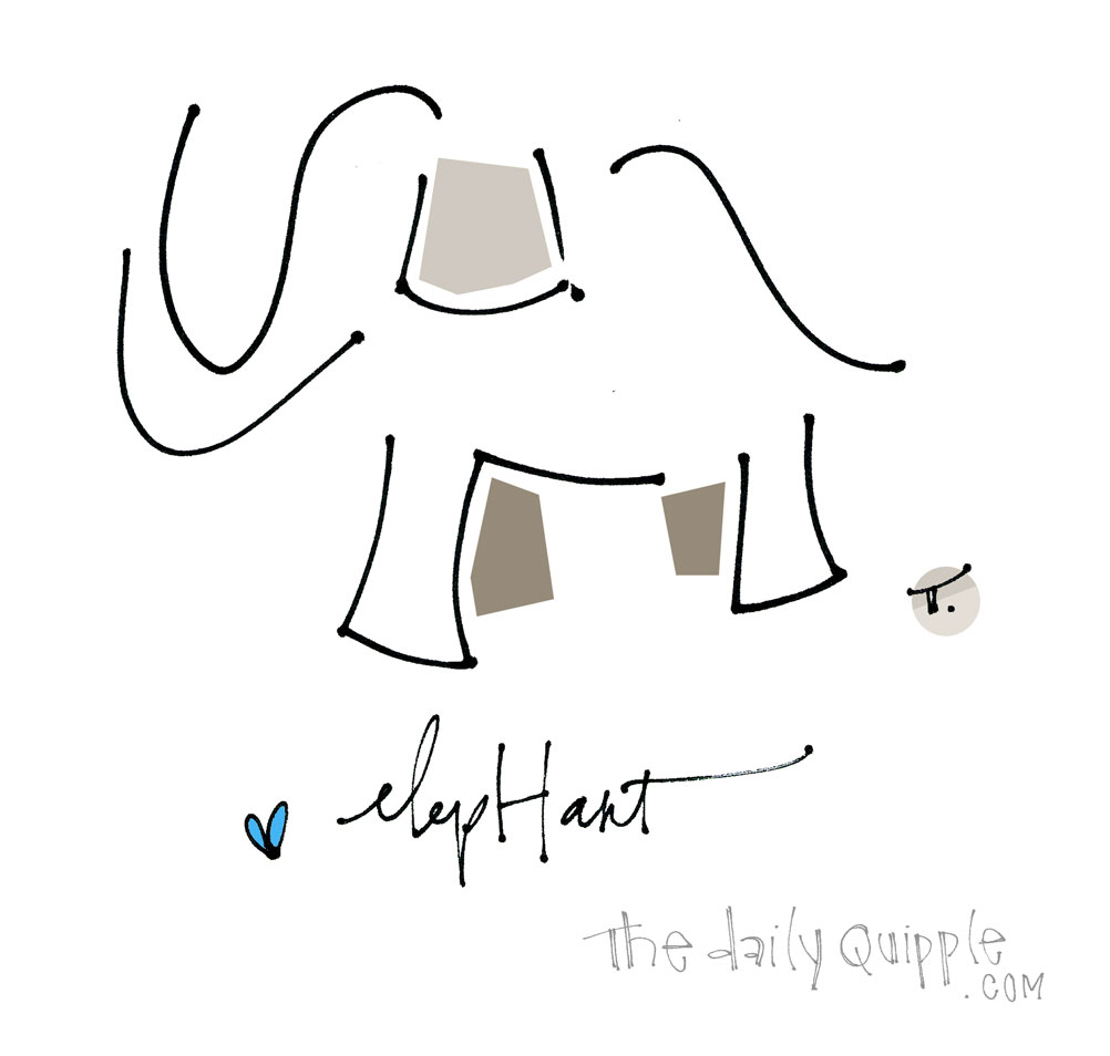 Elephant Love | The Daily Quipple