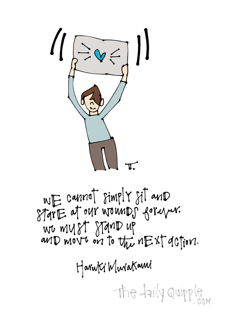 Stand Up, Take Action | The Daily Quipple