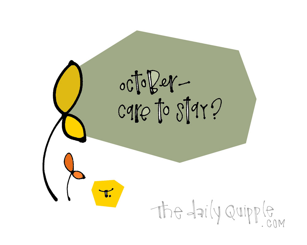 Extending October | The Daily Quipple