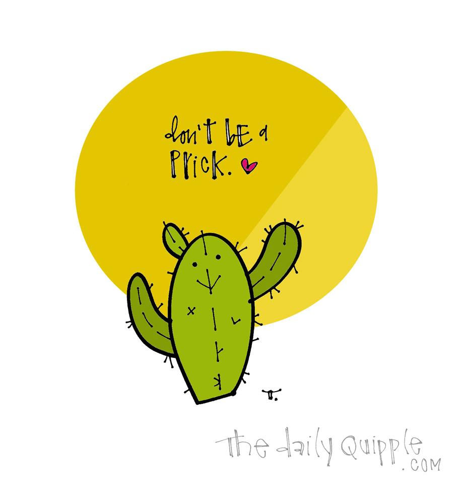 Cactus Advice | The Daily Quipple
