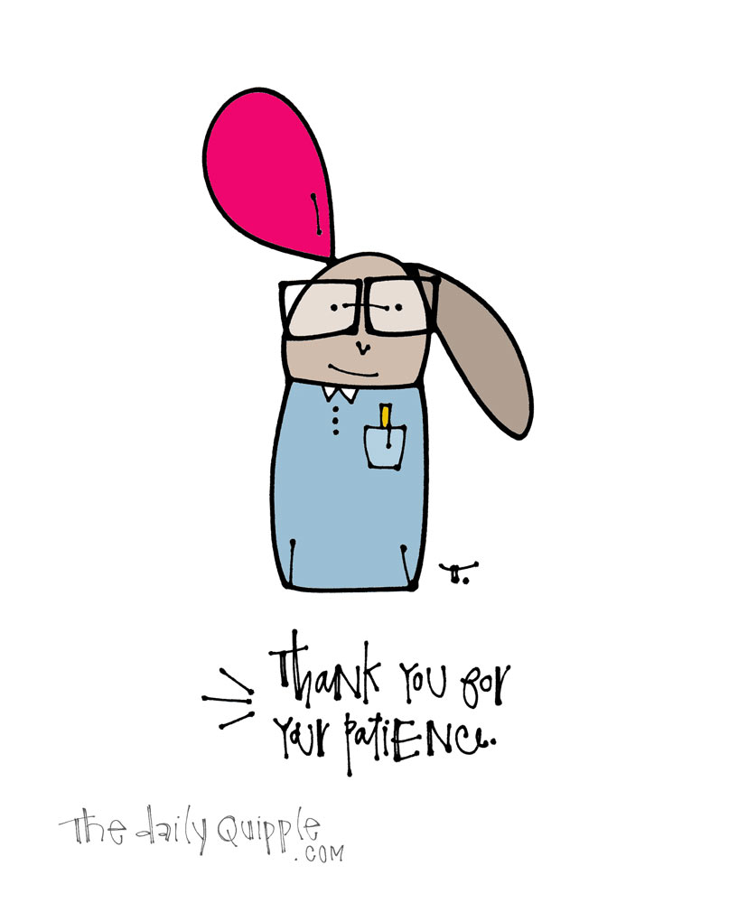 Thank You Bunny Much | The Daily Quipple