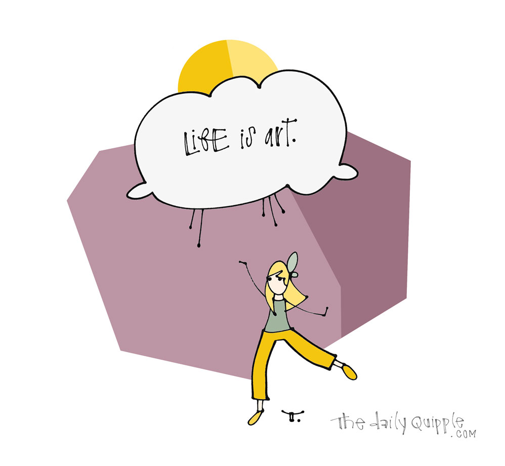 You Are the Artist   The Daily Quipple