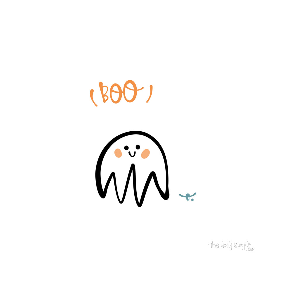 Littlest Ghost | The Daily Quipple