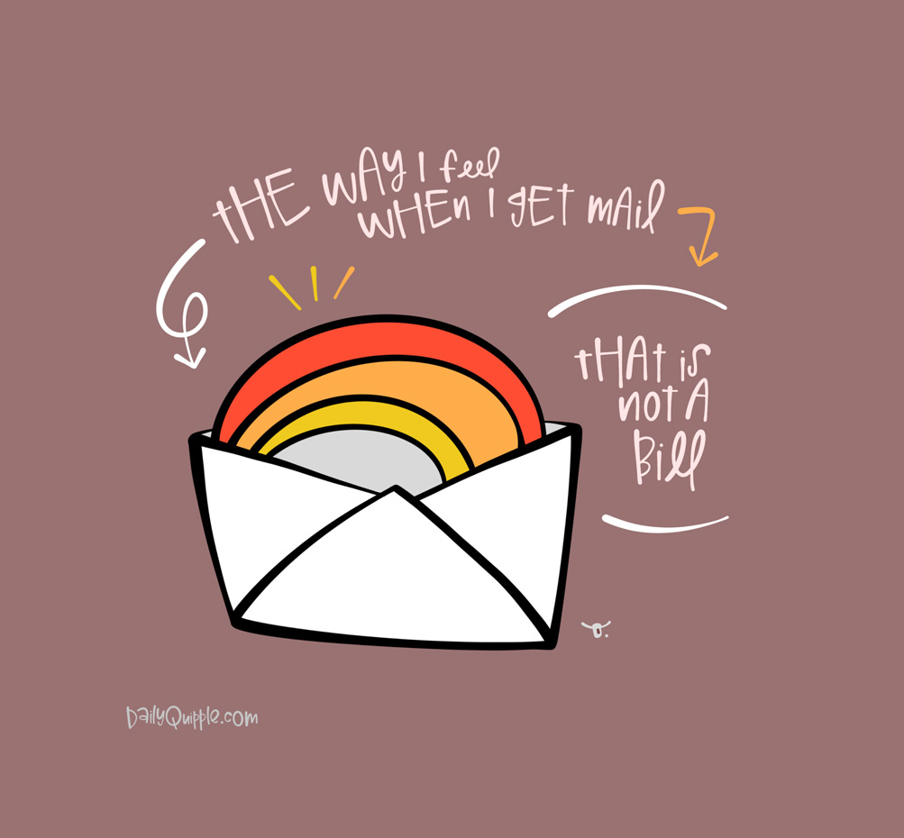 Fun Mail   The Daily Quipple
