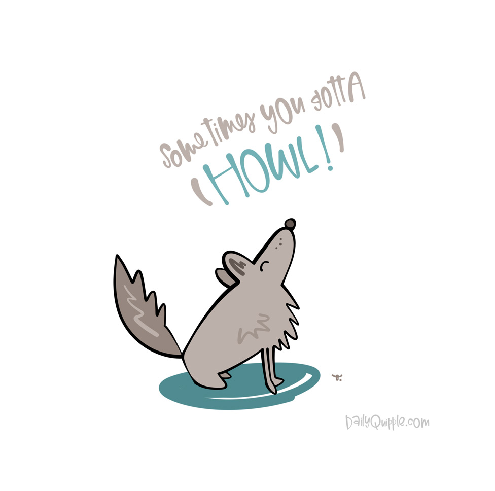 Lone Wolf | The Daily Quipple