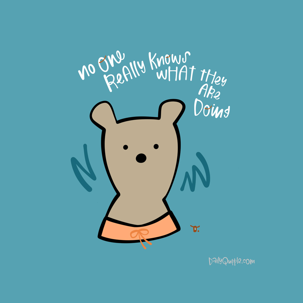 A Beary Good Reminder   The Daily Quipple