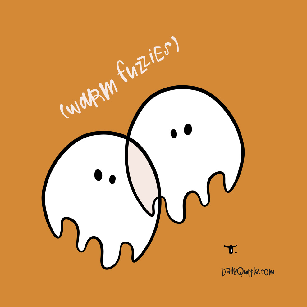 Cozy Ghosts | The Daily Quipple