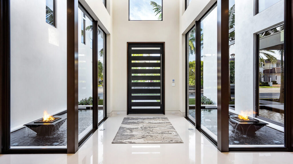Modern Front Door | Smith & DeShields