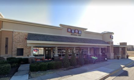 BRGR Kitchen + Bar in Leawood; Approximately 80% of all dishes, pans, utensils and equipment stored as clean in the kitchen were soiled with food debris and residue- 17 violations