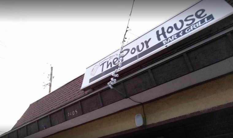 3 dead small flying insects in tequila bottle, Shawnee's Pour House Bar and Grill fouls restaurant inspection
