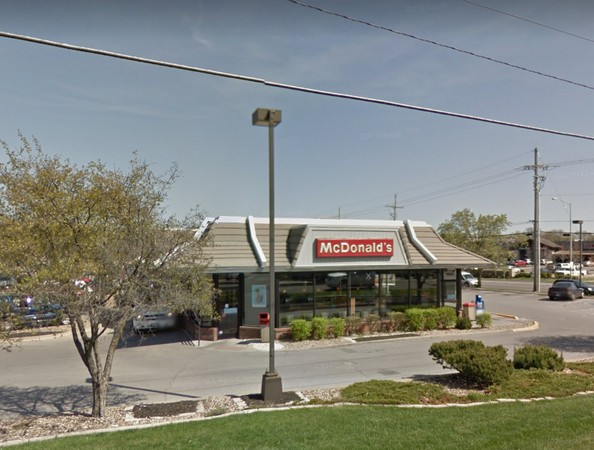 Leawood McDonald's fumbles inspection; Live small flying insects by the registers and the drive through area, on the walls, by the hand sink