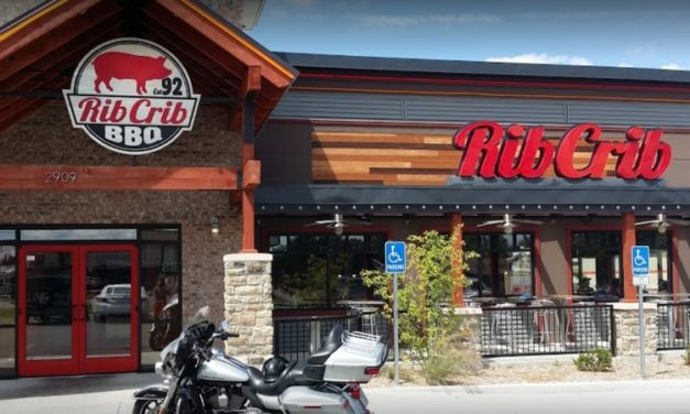 "Rib Crib BBQ and Grill fails inspection, ""One bottle of Dewar's Scotch Whiskey contained small flies,"" 7 violations"