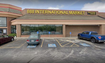 More than 50 large winged insects in white powder, some flying, some dead; BBQ House in Overland Park fails inspection inside 888 International Market