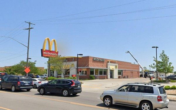 Lawrence McDonald's fouls inspection; Mocha machine being fed by 61 degree warm milk, Discontinued use of equipment until cooler is repaired