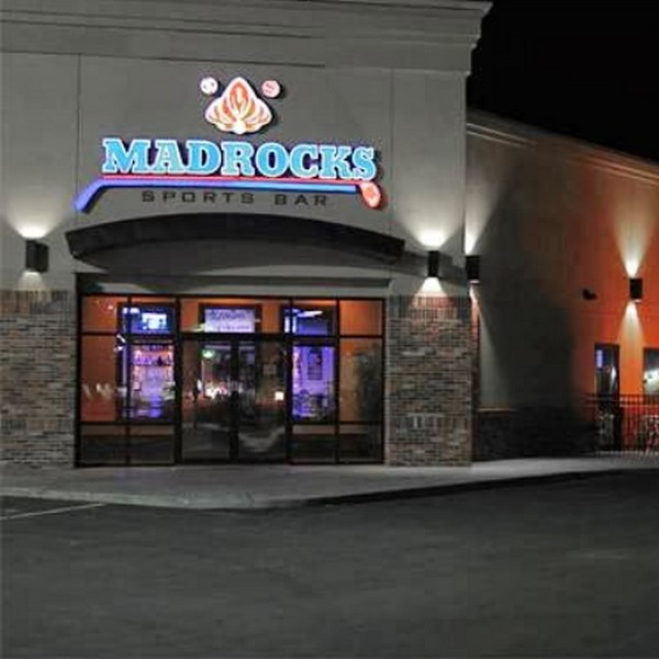 Inspection Madrocks Restaurant & Sports Bar in Derby; fruit flies in bottle of green apple vodka and bottle of Bushmills whiskey
