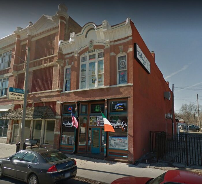 """Sharky's Pub & Grub remote inspection in Fort Scott finds, """"fresh rodent droppings: approximately 10 on the floor at the bar, just east of the small dishwasher"""""""