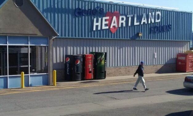"Inspection at Gene's Heartland Foods in Eudora; ""deli meat slicer had visible food residues on the food contact surfaces. The slicer had last been used more than 24 hours ago, according to person in charge"""