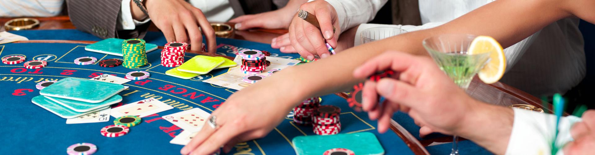 Boston casino table rentals near me