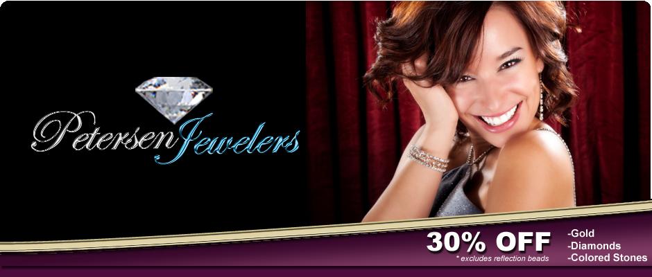 Petersen Jewelers Jackson, Michigan 30% Off Gold