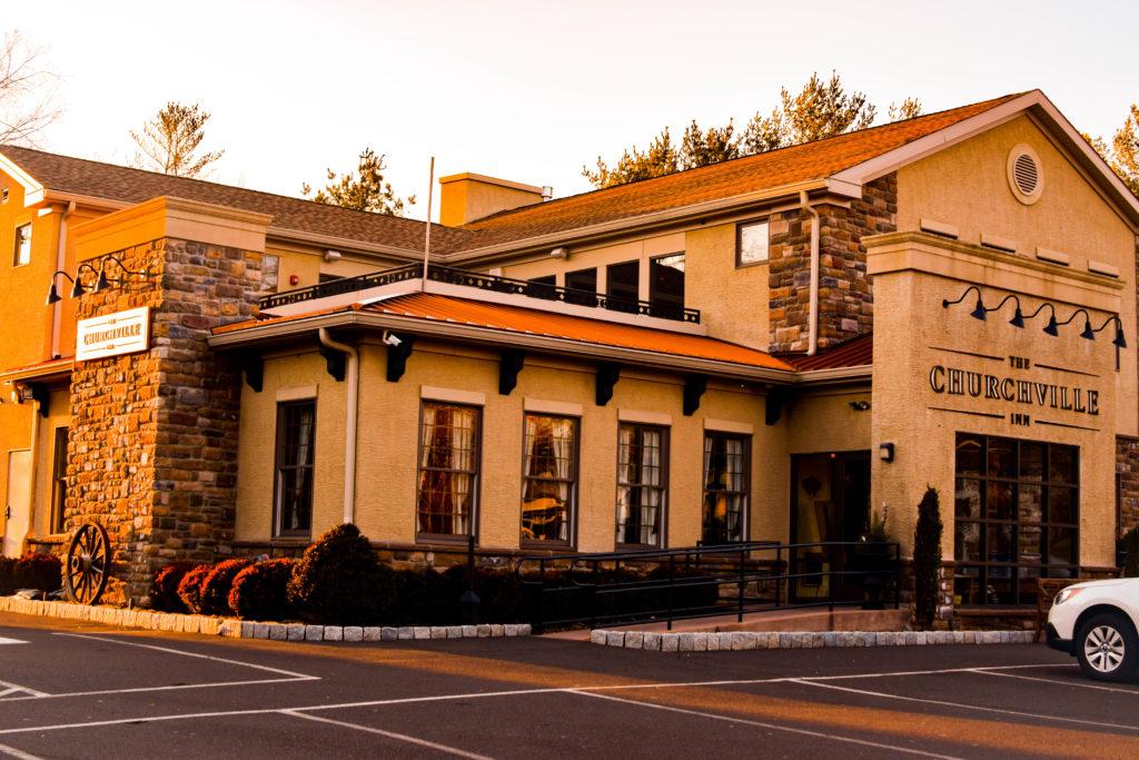 The building of the Churchville Inn