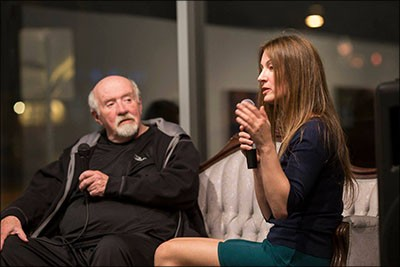 Dave Hickey and Julia Friedman speak at the Contemporary Arts Collective in Las Vegas , Nv 03.05.2016