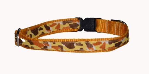 Camo Dog and Cat Collar