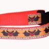 Bats Dog Collar