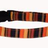 Fall Stripes Dog Collar