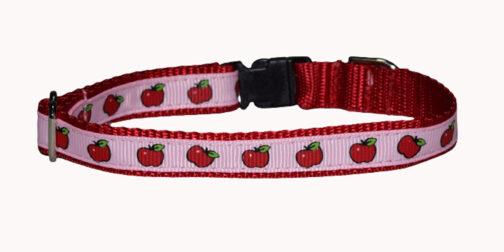 Apple Dog and Cat Collar