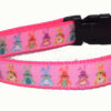 Easter Bunnies Pink Dog and Cat Collars