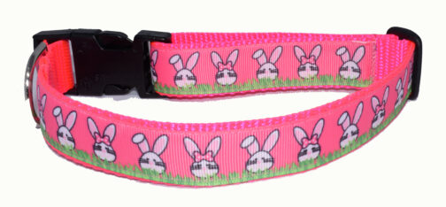 Easter Bunny Head Dog and Cat Collars