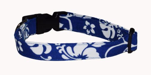 Hawaiian Blue Dog Collar
