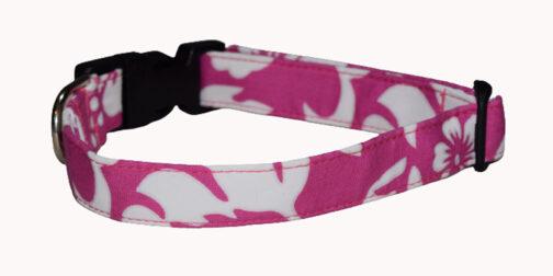 Hawaiian Pink Dog Collar