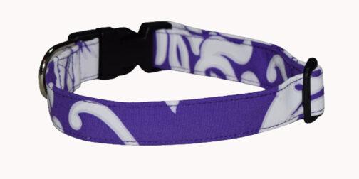 Hawaiian Purple Dog Collar