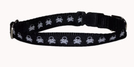 Pirate Skull and Crossbones Dog and Cat Collars