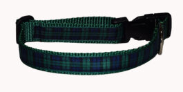 Plaid Blackwatch Dog and Cat Collars